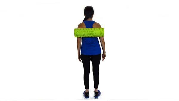 Upper Back Foam Roller