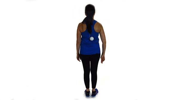 Upper Back Lacross Ball