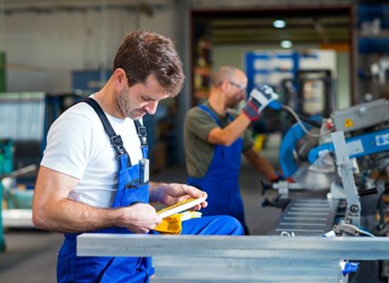 Manufacturing Work Settings